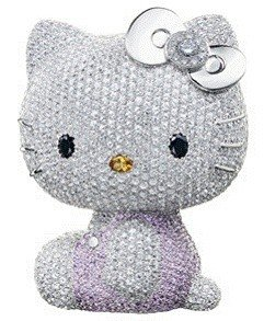 Кукла Super Hello Kitty за 15 миллионов йен