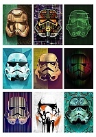 Наклейки Masked Stormtroopers No.1