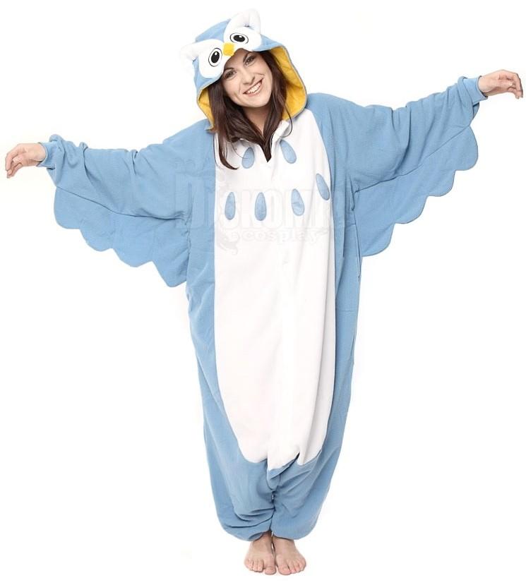 Фотография большая Кигуруми Сова Голубая   Kigurumi Blue Owl из аниме и  манги Кигуруми 6fde5c38dfbf9