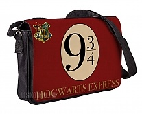 Сумка-почтальонка тканевая Harry Potter Hogwarts Express Platform 9 3/4