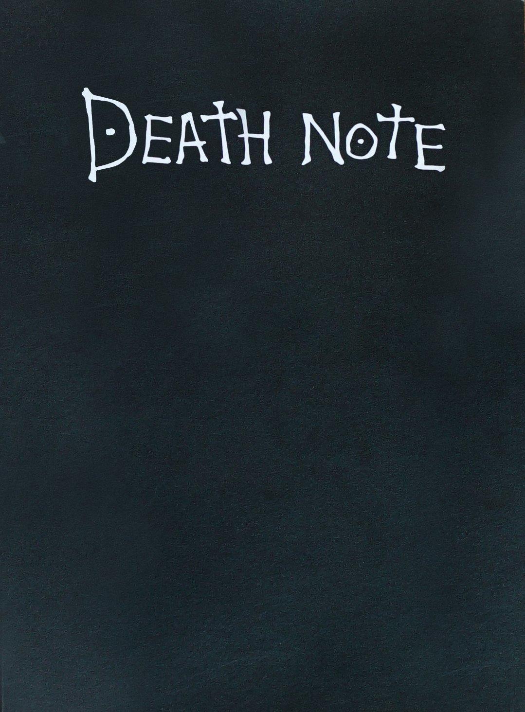 Тетрадь Смерти Death Note: Light Yagami с правилами на ...