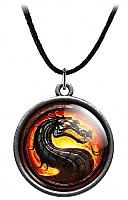 "Кулон ""Mortal Kombat"" Dragon Logo"