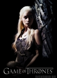 Плакат бумажный Game of Thrones: Iron Throne - Daenerys Targaryen