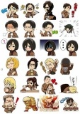 Наклейки Attack on Titan No.6