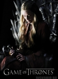 Плакат бумажный Game of Thrones: Iron Throne - Cersei Lannister