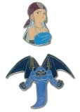 Набор значков  Pins: Blue Dragon - Zora & Killer Bat (Set of 2)  GE7461