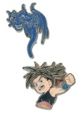 Набор значков Pins: Blue Dragon - Shu & Blue Dragon (Set of 2)  GE7459