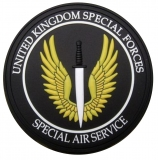 Нашивка на липучке Call of Duty UK Special Air Service